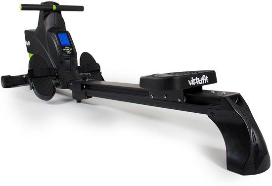 Roeitrainer - VirtuFit Ergometer Semi-Pro - Roeimachine - Roeiapparaat - Hartslagfunctie - Inklapbaar - Zwart