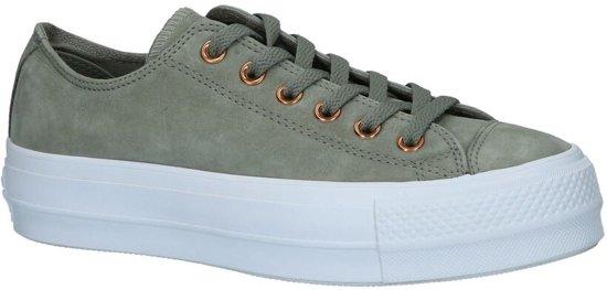 a76208c679e bol.com | Converse All Star Lift Clean Groene Sneakers