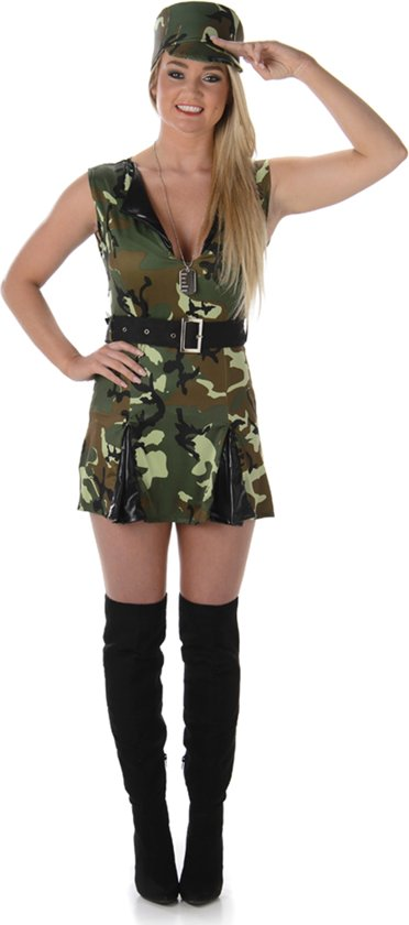 soldaat kostuum dames