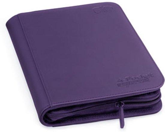 Afbeelding van het spel Ultimate Guard 4-Pocket ZipFolio XenoSkin Purple