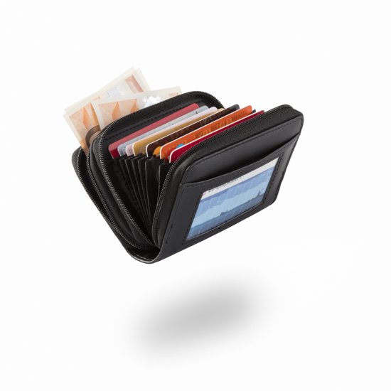 72252fce73c Mini creditcard Portemonnee - Pasjes Houder 18 Pasjes - RFID Blocking