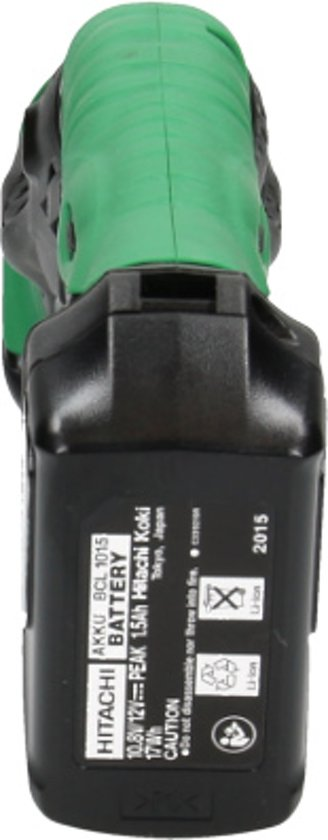 Hitachi accu reciprozaagmachine - CR10DL(2lcsk)Li-ion - 93255406