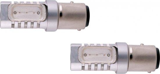 Evo Formance Autolampen P21/5w Smd Led 12 Volt 6 Watt Rood 2 Stuks