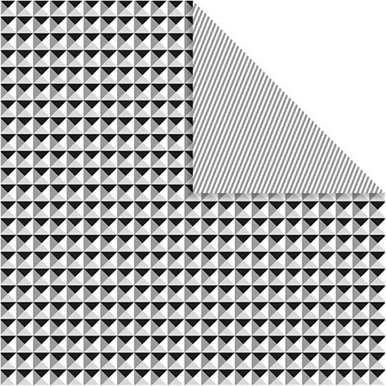 Design Papier, vel 30,5x30,5 cm,  120 gr, 5vellen,