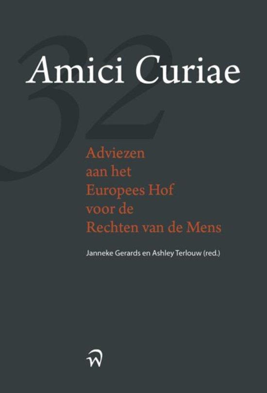 Amici Curiae, adviezen aan het Europese hof voor de rechten van de mens