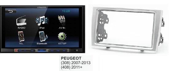 autoradio Peugeot (408) 2011 en hoger kenwood met bluetooth / usb aux in Vechmaal