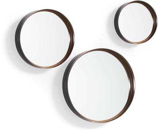 Spiegel Zwart Metaal : Bol laforma rem spiegel metaal koper