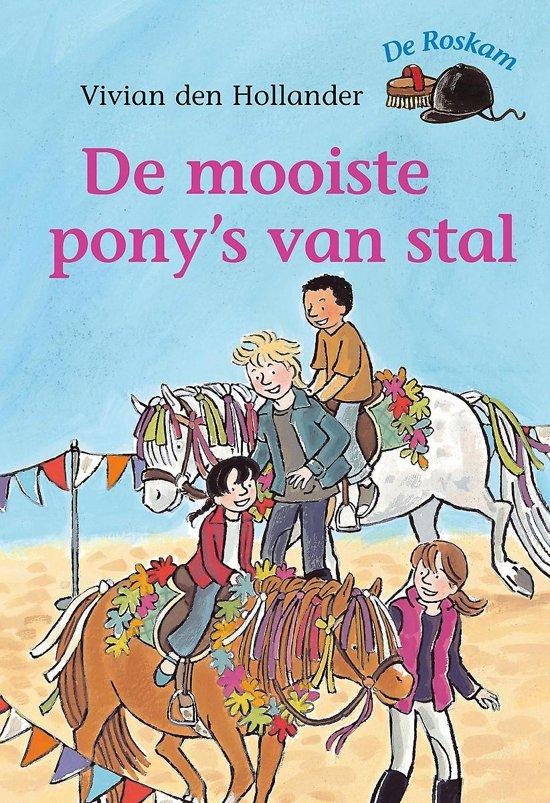 Boek cover De Roskam - De mooiste ponys van stal van Vivian den Hollander (Hardcover)