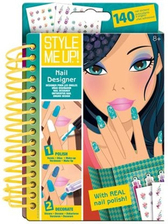 Style Me Up Sketch-To-Go Nail