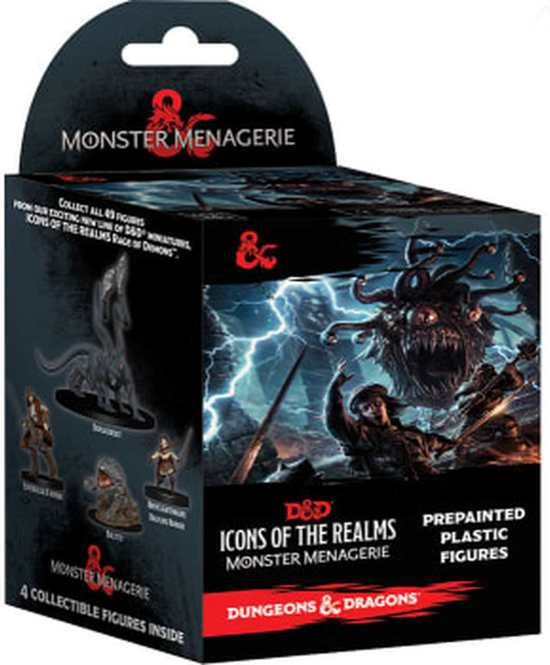 Afbeelding van Dungeons and Dragons Icons of the Realms Monster Menagerie Booster speelgoed