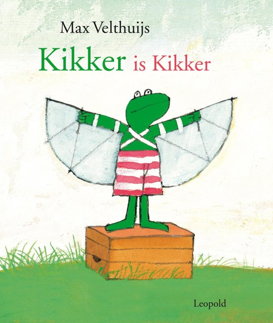 Boek cover Kikker - Kikker is Kikker van Max Velthuijs (Onbekend)