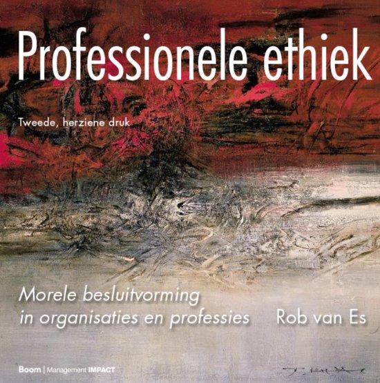 Boek cover Professionele ethiek van Rob van Es (Hardcover)