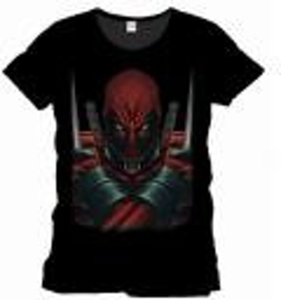 Merchandising DEADPOOL - MARVEL T-Shirt Warning Officiel Black (S)