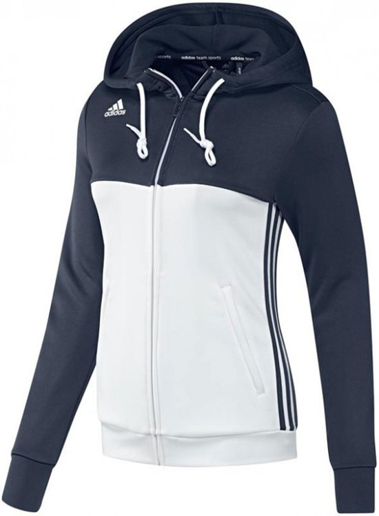 adidas T16 'Offcourt' Hoody Dames - Sweaters - blauw donker - S