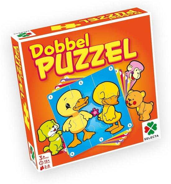 Afbeelding van het spel Selecta Dobbel Puzzel Junior