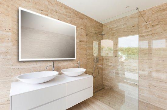 Afmeting Badkamer Spiegel : Bol spiegel met ingebouwde led verlichting rondom cm