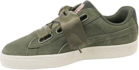 Vrouwen Velvet 01 Groen Heart 365111 38 Rope Maat Suede Sneakers Puma Eu qRYF6OY