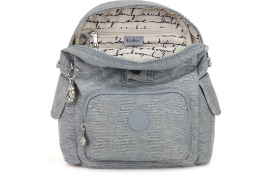 Denim Kipling Mini City Pack RugzakCool vN8n0mw