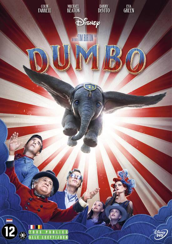 DVD cover van Dumbo