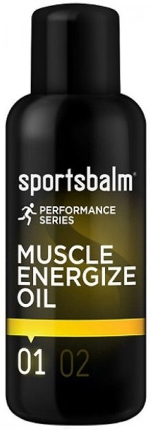 Sportsbalm Voorbereidingsolie Muscle Energize Oil 200ml Per Stuk
