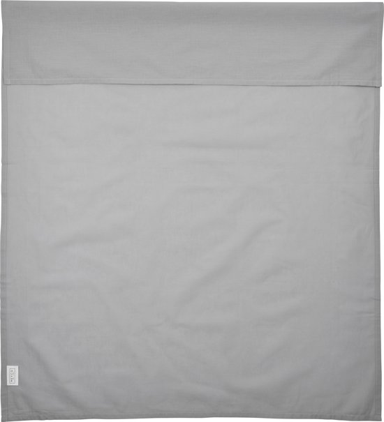 Meyco wieglaken uni - 75 x 100 cm - grijs