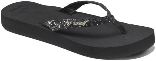 """ Reef Star Cushion teenslippers dames zwart """