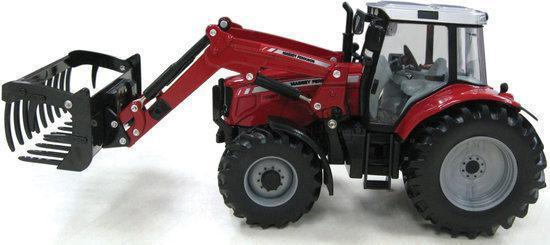 Britains Massey Ferguson 6480 Tractor And Loader