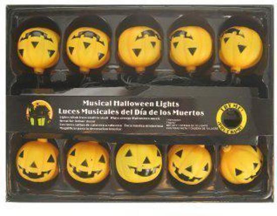 Halloween Verlichting.Bol Com Verlichting Pompoentjes Met Geluid Halloween