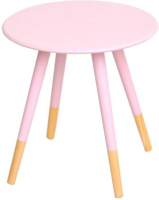 Woonexpress meppel bijzettafel roze - Tafel roze kind ...