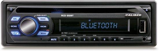 CALIBER  Autoradio RCD122BT - 4x75Watt met FM/CD/USB/SD/Aux in  & Bluetooth voor handsfree bellen en muziek streamen