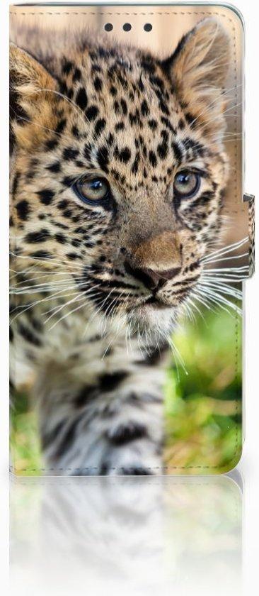 Huawei Mate 20 Uniek Boekhoesje Baby Luipaard