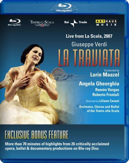 Cover van de film 'Giuseppe Verdi - La Traviata'