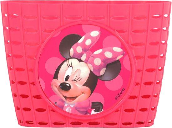 Plastic fietsmandje Minnie Mouse