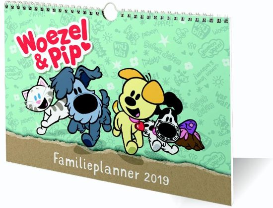 Bolcom Familieplanner Woezel Pip 2019