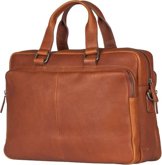 c9fcf118016 bol.com   Burkely Avery Workbag 15.6 inch - Laptoptas - Cognac