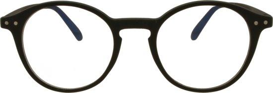 Icon Eyewear YFB214 +0.00 Ilja BlueShields bril zonder sterkte - Blauw licht filter lens - Zwart