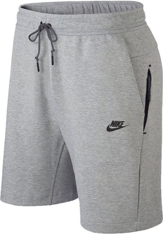 ae53453772f Nike Sportswear Tech Fleece Short Sportbroek casual - Maat M - Mannen -  grijs
