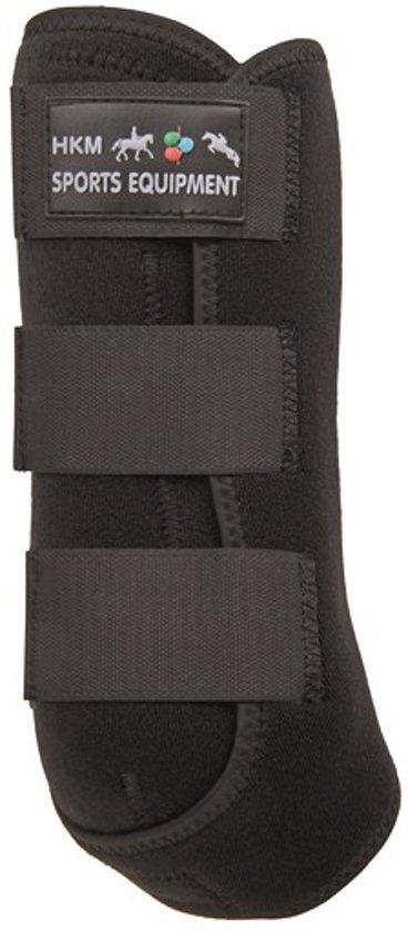 Western beenbeschermers -Air- voor de achterbenen zwart L