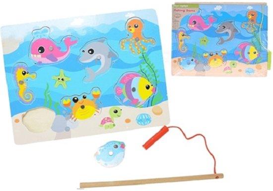 Afbeelding van het spel 2-Play Visspel hout 30x22,5 cm