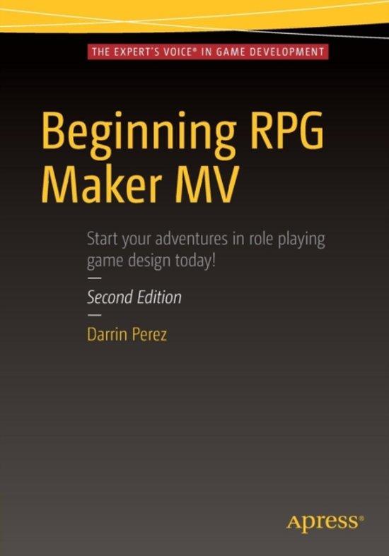 bol com | Beginning RPG Maker MV | 9781484219669 | Darrin Perez | Boeken