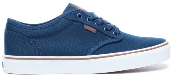 Vans Heren Blauw Atwood Sneakers Mn wqFSwxH