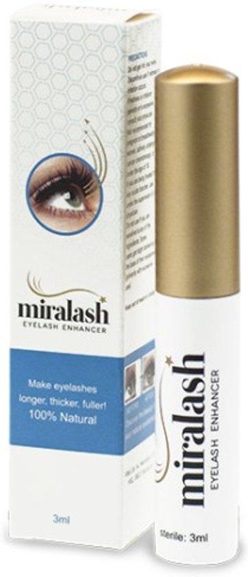 Wimperserum Miralash Eyelash - veilig langere en vollere en verleidelijke wimpers