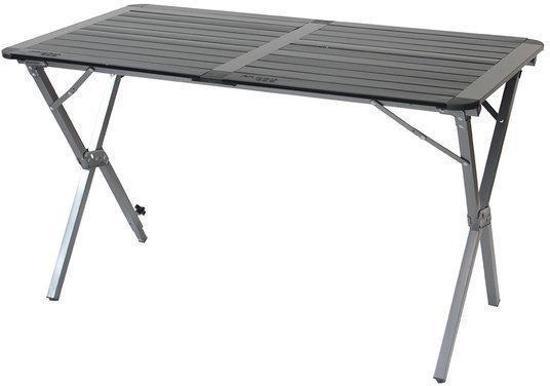 campingtafel aluminium oprolbaar