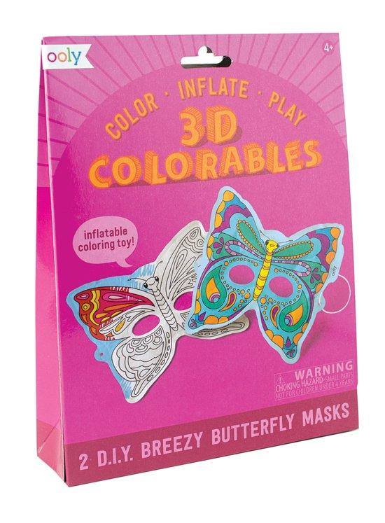 Kleurplaten Vlinder Maskers.Bol Com Ooly 3d Colorable Vlinder Maskers Ooly Speelgoed