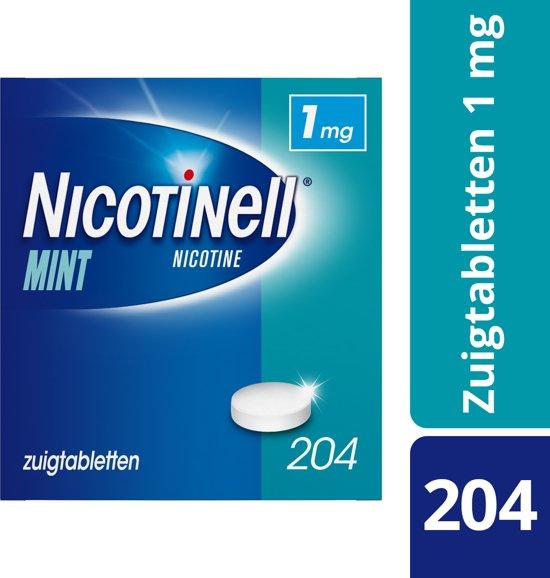 Nicotinell cool mint 1 mg zuigtablet - 204 stuks