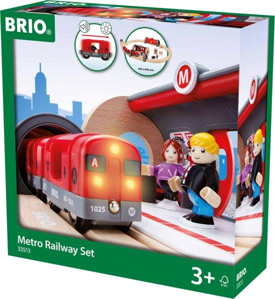 Brio Trein Metro Circuit