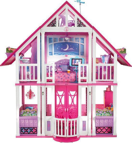 bol.com | Barbie Malibu Droomhuis - Barbie huis, Mattel | Speelgoed