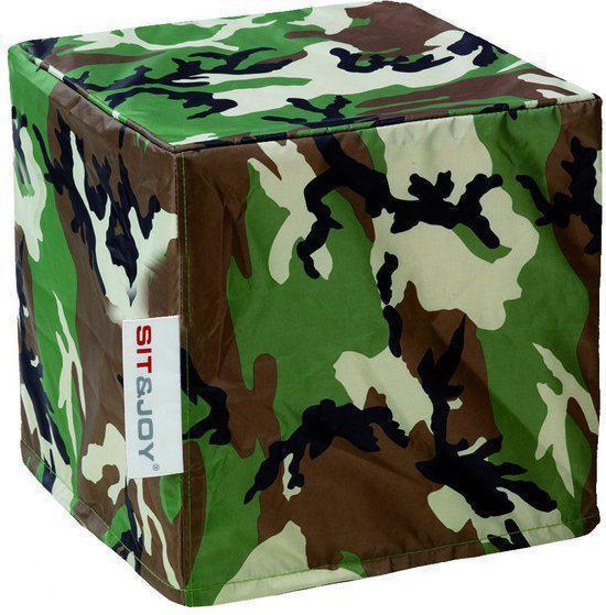 Sit Joy Zitzak Camouflage.Bol Com Sit Joy Hocker Laguna Zitzak 40x40x40 Cm