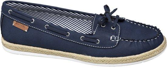 Bench Dames Blauwe bootschoen strik Maat 37
