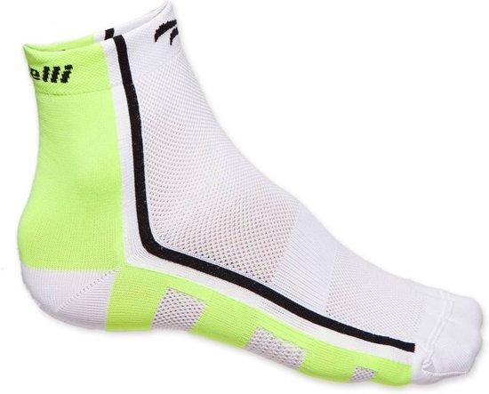 Rogelli RCS 04 sokken - wit/fluor/zwart